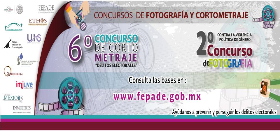 Concursos de Fotografía y Cortometraje FEPADE