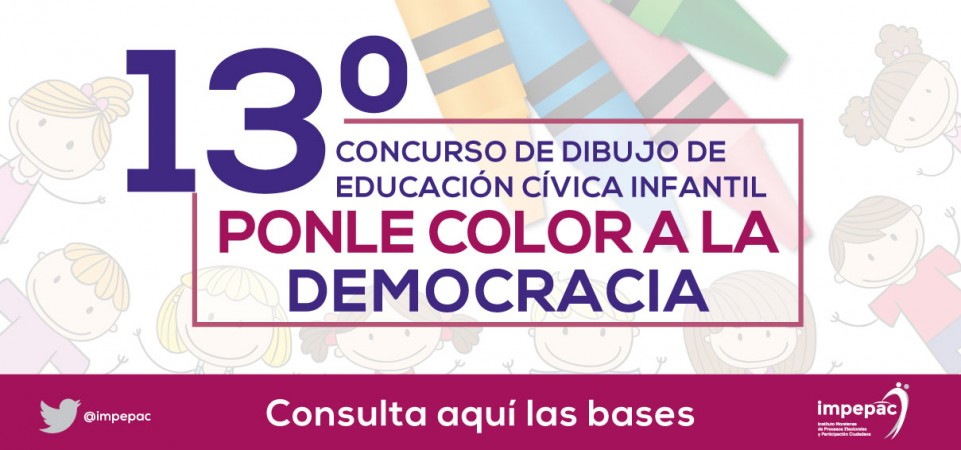13° Ponle Color a la Democracia