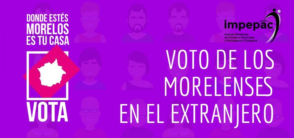 MicroSitio Voto extranjero