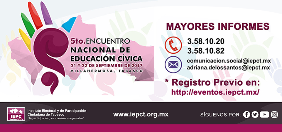 5to. Encuentro Nacional de Educación Cívica