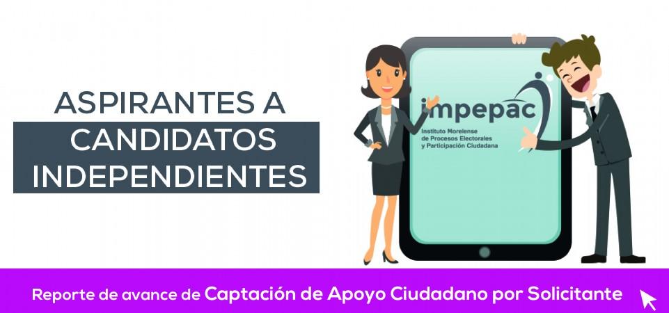 Apoyo Ciudadano para Aspirantes a Candidatos Independientes