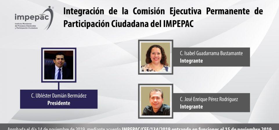 Integración de la Comisión Ejecutiva Permanente de Participación...