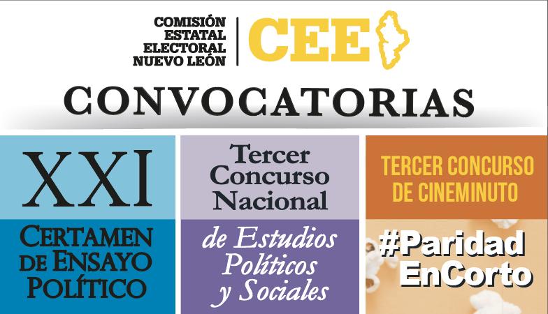 Convocatorias Comisión Estatal Electoral Nuevo León