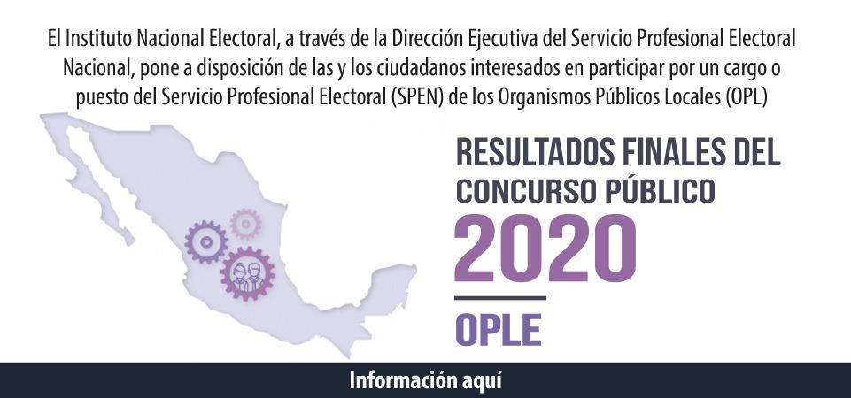 Resultados SPEN Morelos