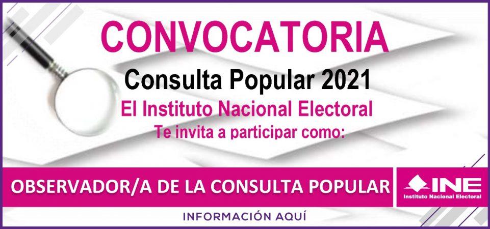 Convocatoria Consulta Popular 2021